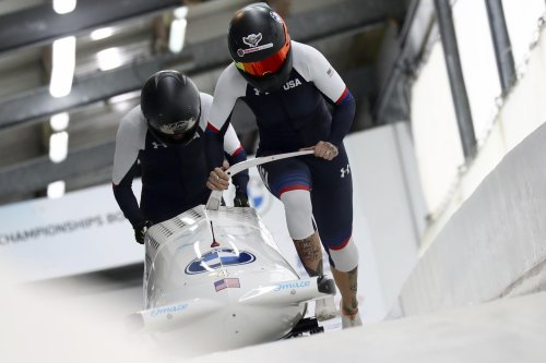 Bobsledder Kaillie Humphries seeks path to Beijing Olympics