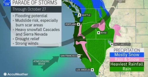 Accuweather: Beast of a bomb cyclone is set to wallop the West Coast