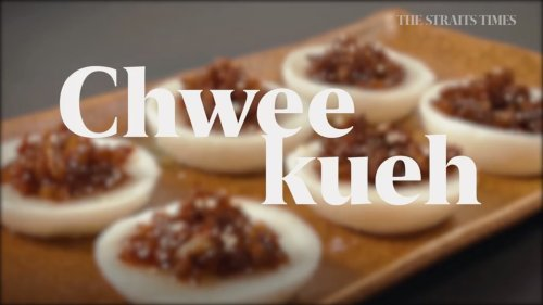 Comfort Cooking: Chwee kueh with a touch of luxury