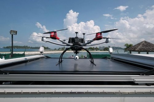 Unmanned drone now part of SLA's Southern Islands inspection regime