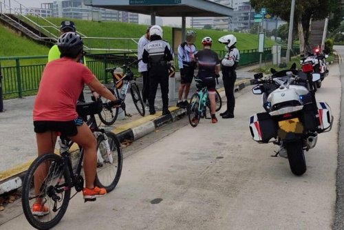 34 cyclists in S'pore caught breaking rules on roads over 2 days: LTA