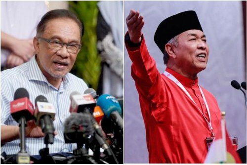 Malaysia's Anwar denies he was in audio clip speaking to alleged Umno president Zahid