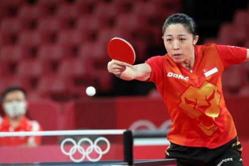 Olympics: Singapore's Yu Mengyu shocks Taiwanese world No. 8, enters table tennis singles last 16