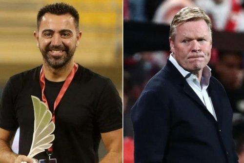 Football: Xavi leads candidates to replace sacked Koeman at Barcelona
