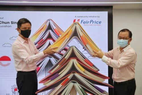 FairPrice's Share-A-Textbook returns and will benefit families impacted by Covid-19, says CEO
