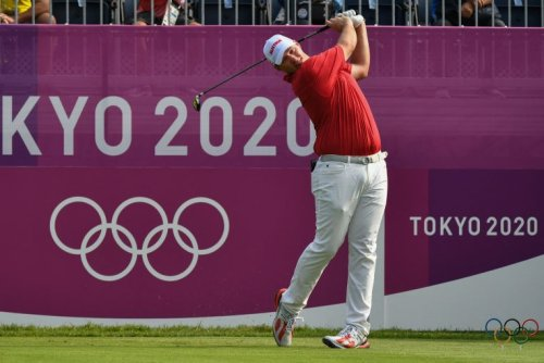 Olympics: Golf stars frustrated on weather-hit day as Austria's Straka leads