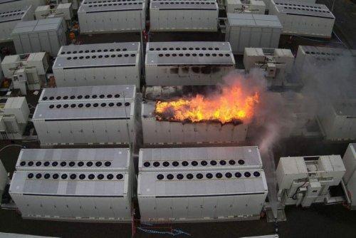 Tesla Megapack fire in Australia blamed on undetected coolant leak
