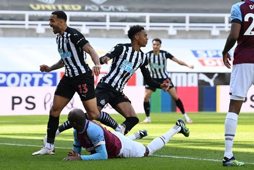 Football: West Ham suffer top-four blow in defeat at Newcastle