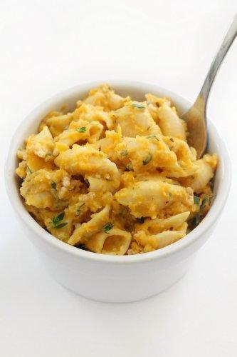 Vegan Butternut Squash Mac and Cheese (Gluten-Free, Allergy-Free)