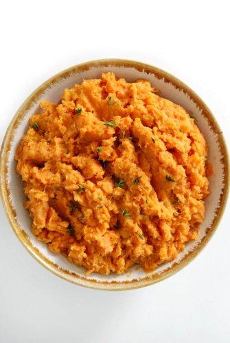 Vegan Mashed Sweet Potatoes (Gluten-Free, Paleo, Allergy-Free)