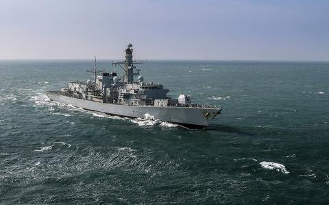 'Insidious intentions': China condemns UK warship's trip through Taiwan Strait
