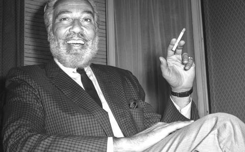 Cesar Romero in Spain, 1962