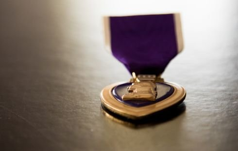 Family is reunited with WWII, Korean War soldier's lost Purple Heart