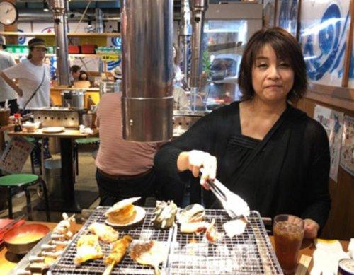 Tasty all-you-can-eat seafood in Odawara