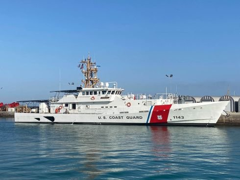 A third fast-response Coast Guard cutter heads to Guam as tensions simmer with China