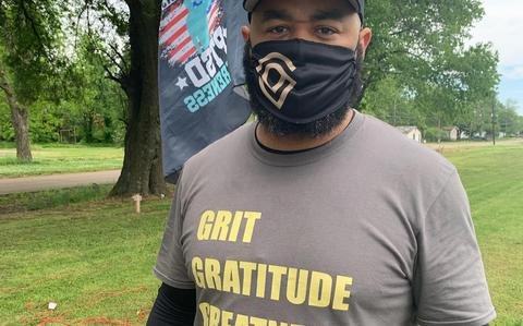'I will walk every step': Army veteran on 1,800-mile journey to raise suicide awareness