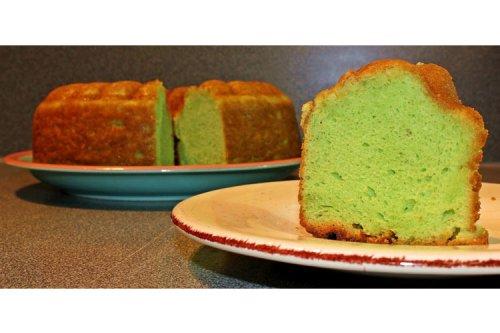 Pistachio Cake a favorite dessert on Guam