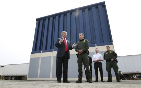 Most of Pentagon billions moved to border wall not recoverable