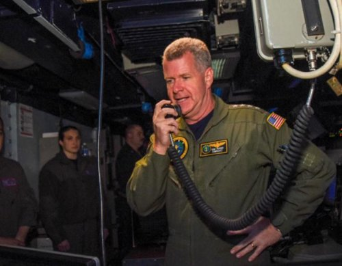 Commander, U.S. Pacific Fleet visits USS Ronald Reagan Carrier Strike Group