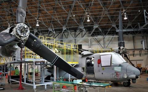Japanese firms sign $225 million deals to maintain Ospreys for Navy, Marine Corps