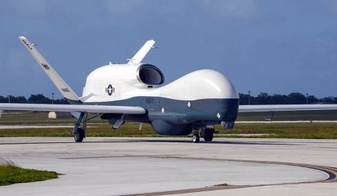 Navy's Guam-based Triton drones to join Air Force Global Hawks in Japan this summer