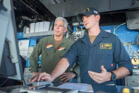 Navy picks a face familiar in Japan to lead Yokosuka-based 7th Fleet