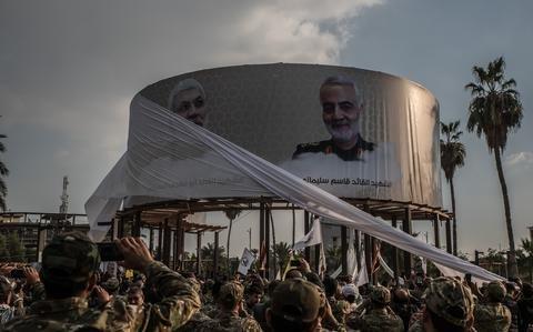 Iran-backed militias' new tactic: drones