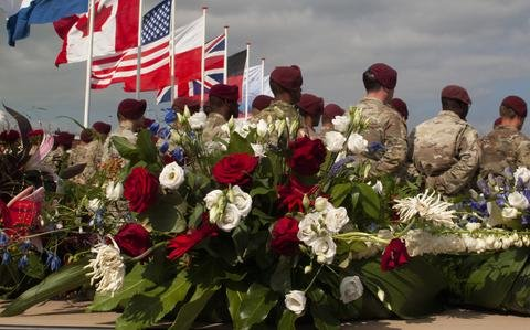 US, Netherlands remember 48 paratroopers who died in heroic Waal River crossing in WWII