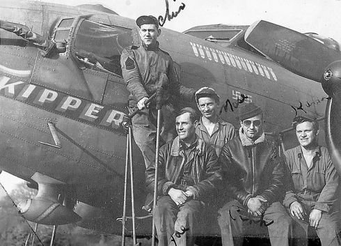 Air Force dedicates nose art on KC-135 at RAF Mildenhall to late WWII crew chief