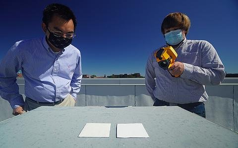 Scientists created world's whitest paint; It could eliminate need for air conditioning