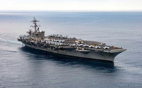 USS Carl Vinson strike group is first to deploy with F-35C stealth fighters