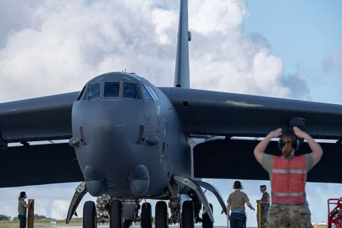 B-52 Bombers deploy to Guam for Bomber Task Force Deployment