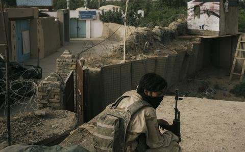 Taliban forces advance into major Afghan cities for first time in two decades