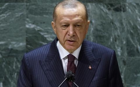 US offering F-16s to Turkey as reimbursement, Erdogan says