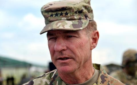 Europe is a 'priority theater' for US Army, top general says