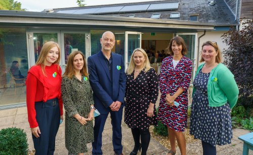Hospice welcomes support from businesses