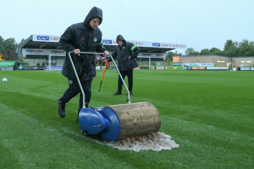 Forest Green v Brighton U21s off due to waterlogged pitch