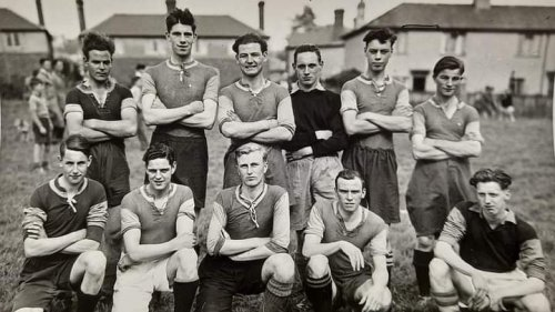 Can you name this team and players from a bygone era?