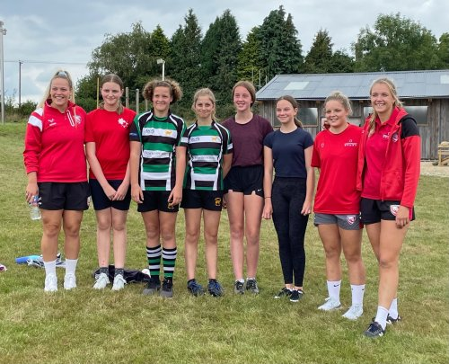 Girls-only rugby group