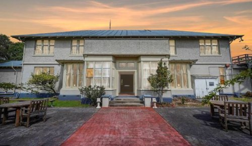 Fancy living in a heritage-listed former mental health hospital?