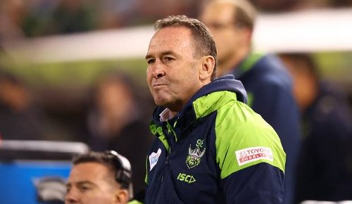 Raiders face NRL sanction after Ricky Stuart left red-faced over 18th man debacle