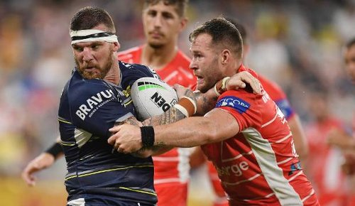 Josh McGuire set for Dragons debut against Warriors on Sunday