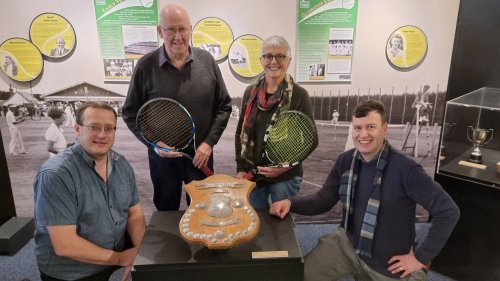 Exhibition celebrates 100 years of tennis in South Canterbury