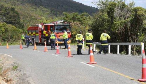 Serious crash on Queen Charlotte Drive in Marlborough