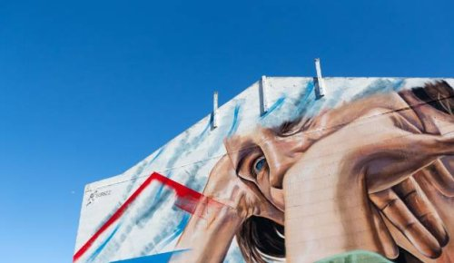 Sydney-based artist's mural represents laid back Taranaki life