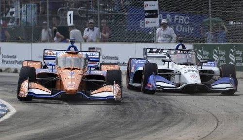 Scott Dixon to start from 13th at Road America after practice mishap