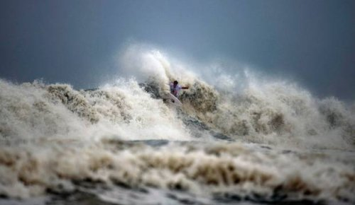 Tokyo Olympics: Surfing's debut labelled 'oceanic sadomasochism'