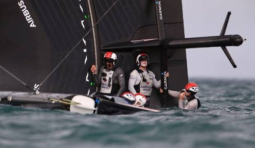 America's Cup: American Magic skipper reveals life-threatening drama in capsize