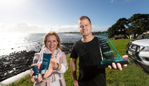 Saving coral reefs a driver for New Plymouth skincare entrepenuer