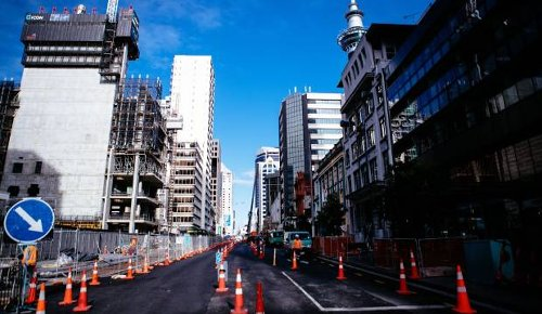 Auckland City Rail Link: Businesses stage protest as street closure looms